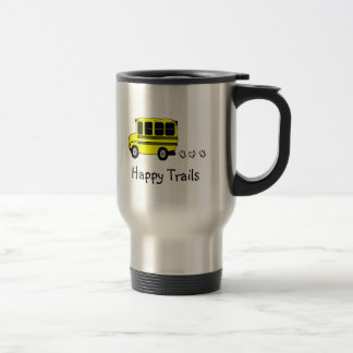 Happy Trails 15 Oz Stainless Steel Travel Mug