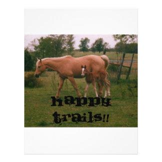 Happy trails!! (kkincade12) custom flyer