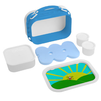 Happy trails! lunch boxes