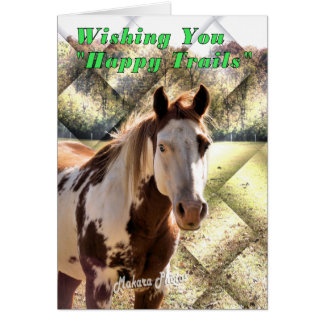 Happy Trails Marriage Card