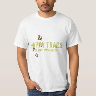 Happy Trails Oil Ctiy, Washington Shirt