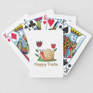 Happy Trails Bicycle Playing Cards