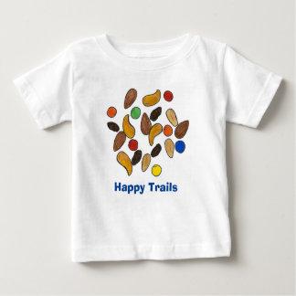 Happy Trails Trail Mix Trailmix Snack Food Nuts T T-shirt