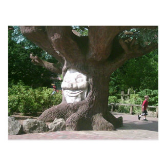 Happy Tree at Alton Towers Postcard