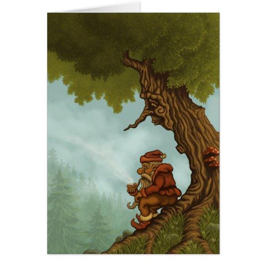 happy tree fantasy greetingcard card