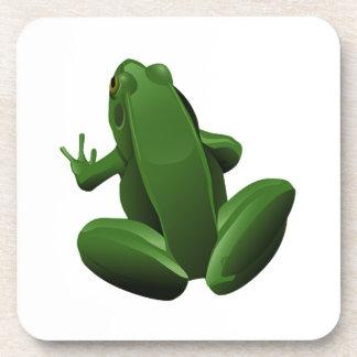 Happy Tree Frog Coaster