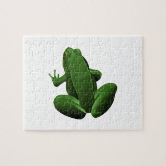 Happy Tree Frog Jigsaw Puzzle