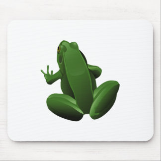 Happy Tree Frog Mouse Pad