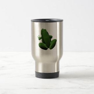 Happy Tree Frog Travel Mug
