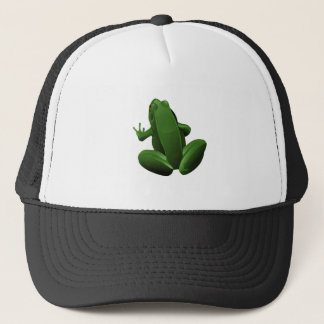 Happy Tree Frog Trucker Hat