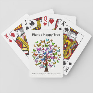 Happy Tree Playing Cards