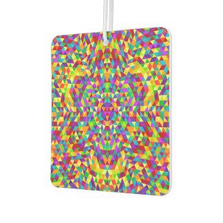Happy triangle mandala 2 air freshener