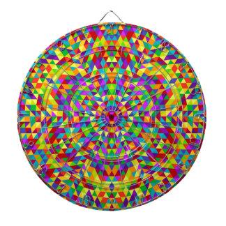 Happy triangle mandala 2 dartboard