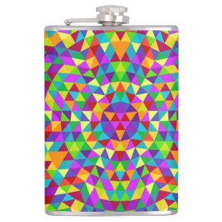 Happy triangle mandala 2 flask