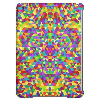 Happy triangle mandala 2 iPad air cases