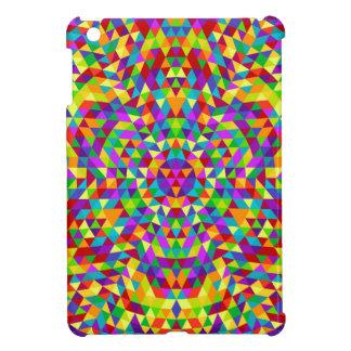 Happy triangle mandala 2 iPad mini cover