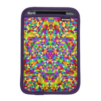 Happy triangle mandala 2 iPad mini sleeve