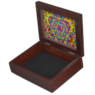 Happy triangle mandala 2 keepsake box