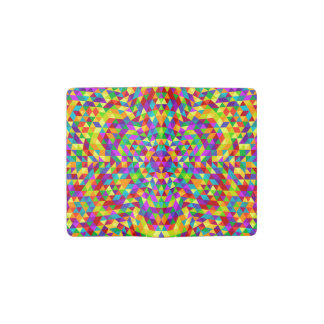 Happy triangle mandala 2 pocket moleskine notebook