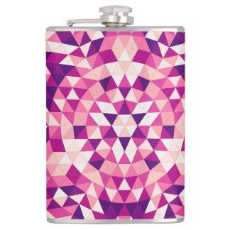 Happy triangle mandala flasks