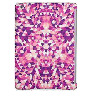 Happy triangle mandala iPad air cases
