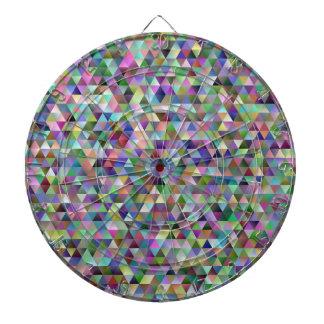 Happy triangle pattern dartboard