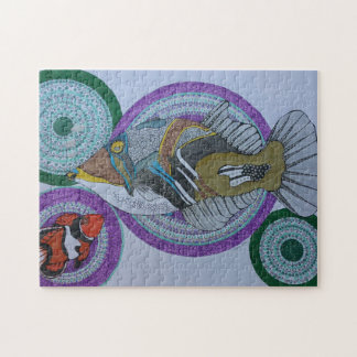 Happy trigger fish jigsaw puzzle