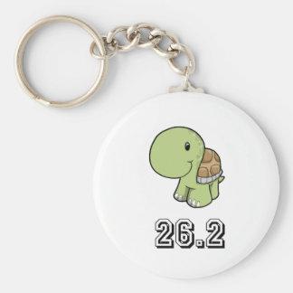 Happy Turtle 26.2 Keychain