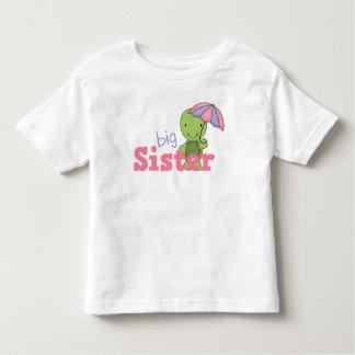 Happy Turtle Big Sister Toddler T-shirt