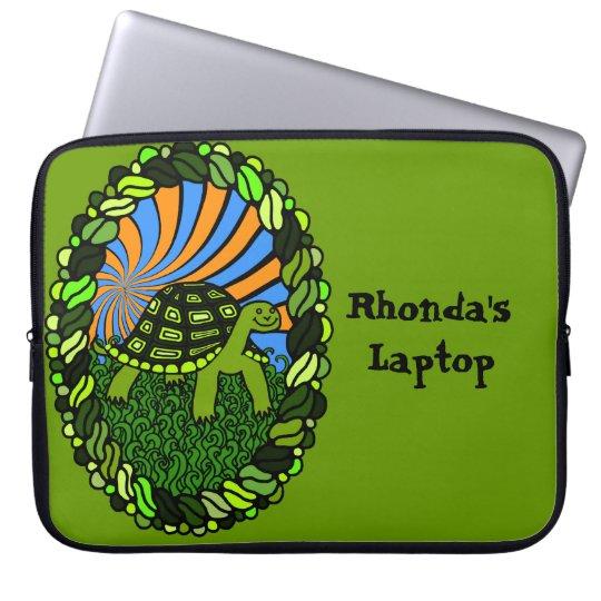 Happy Turtle Laptop Sleeve