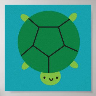 Happy Turtle Poster