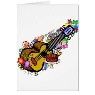 Happy Uke Birthday! Card