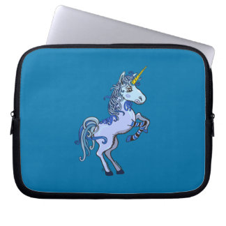 Happy Unicorn Power Laptop Sleeve