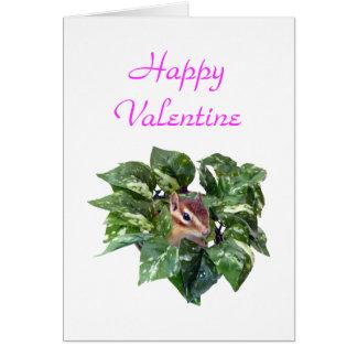 Happy Valentine and Ilove you Card