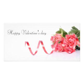 Happy Valentine' S day Custom Photo Card