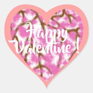 Happy Valentine Sticker (Small)