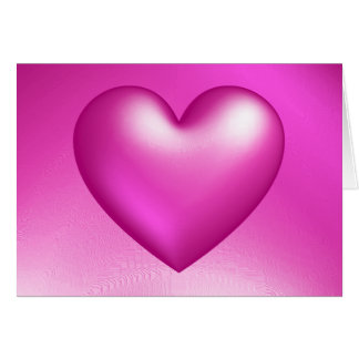 Happy Valentine's Day 3d Heart Card