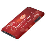 Happy Valentine's Day 7 Case-Mate Case Barely There iPod Covers