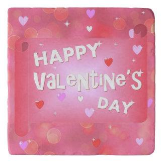 Happy Valentine's day background Trivet