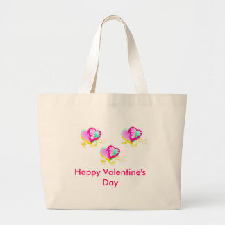 Happy Valentine's Day Tote Bags