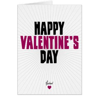 Happy Valentine's Day - Bastard Card