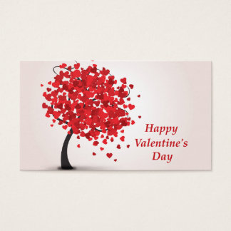 Happy Valentine's Day Business Cards