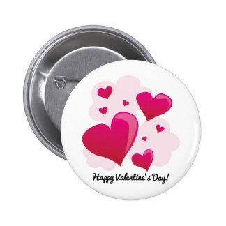 Happy Valentine's Day! 2 Inch Round Button