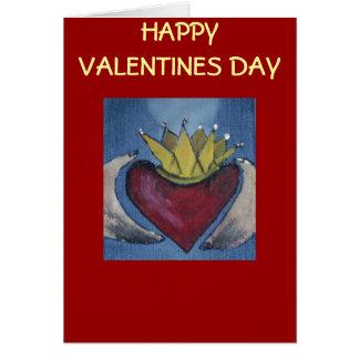 HAPPY VALENTINES DAY CLADDAGH CARD