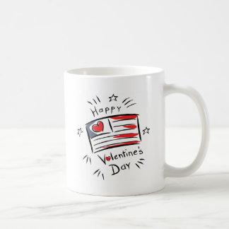 Happy Valentine's Day Classic White Coffee Mug