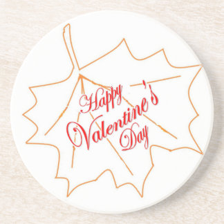 Happy Valentine's Day Coaster