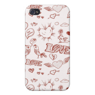 Happy Valentine's Day Cover For iPhone 4
