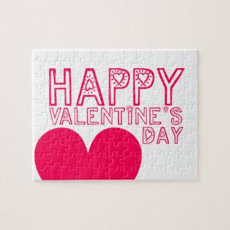 Happy Valentine's day Cute puzzle