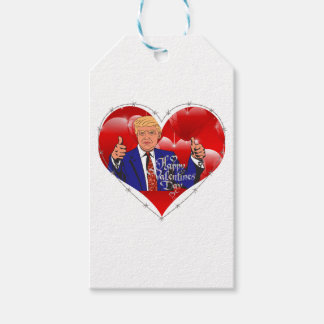 happy valentines day donald trump gift tags