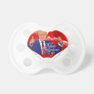 happy valentines day donald trump pacifier